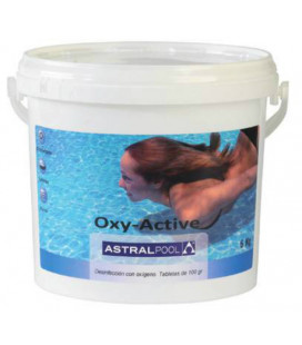 Oxy-Active tabletas de 100 gramos