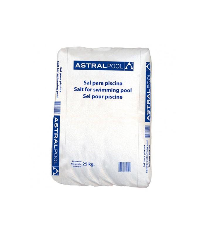 Sal para piscinas astralpool especial clorador salino for Piscina de sal