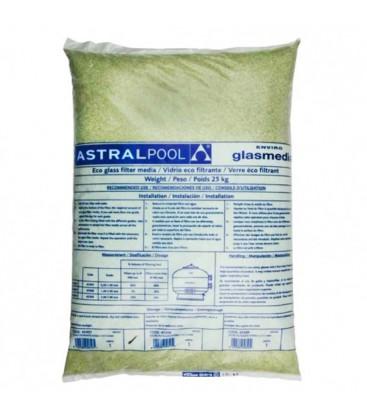 Sacos vidrio filtrante astralpool para piscinas 25 kg for Limpiafondos piscina carrefour