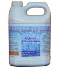 Algicida y anticalcáreo para electrólisis de sal