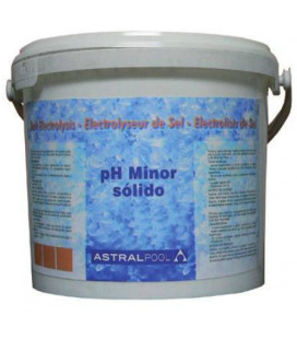Minorador de PH sólido para electrólisis de sal