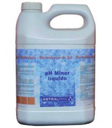 Minorador de PH líquido para electrólisis de sal