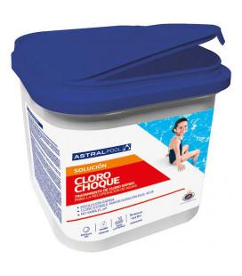 Tabletas de cloro rápido