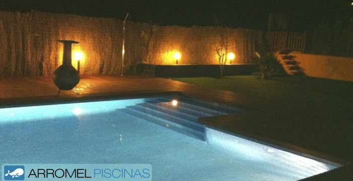 Consejos para iluminar tu jard n y piscina con iluminaci n led - Iluminacion led jardin ...