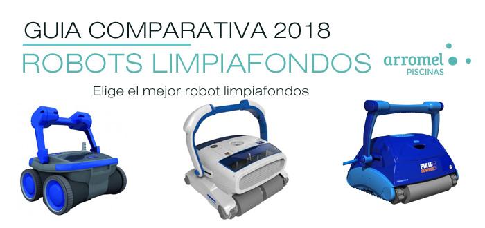 Elegir robot limpiafondos de piscina gu a y comparativa 2018 for Robot limpiafondos para piscinas