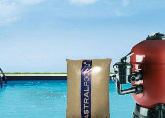 mantenimiento, cambio y reposición de arena en filtro de piscina
