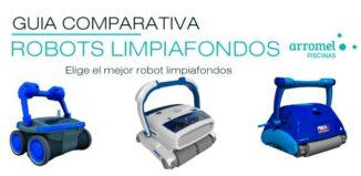comparativa robots limpiafondos de piscina