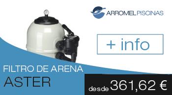 filtro de arena Aster de AstralPool