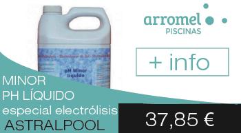 minorador de ph líquido especial electrólisis de sal