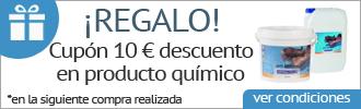 cupón descuento 10 euros robots limpiafondos